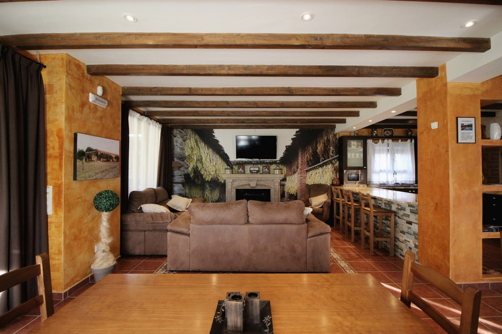 Salón casa rural el secadero 00001